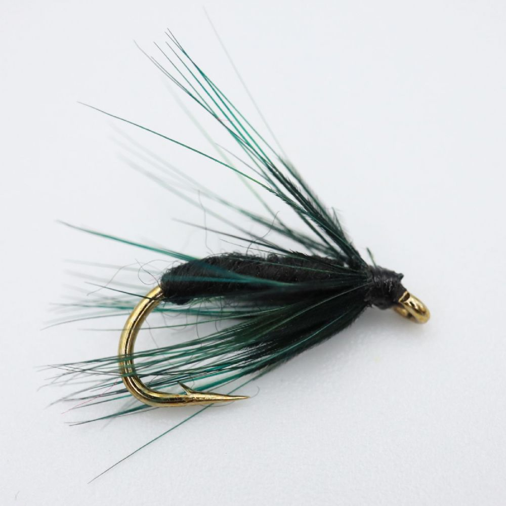 Black Spider Fishing Fly